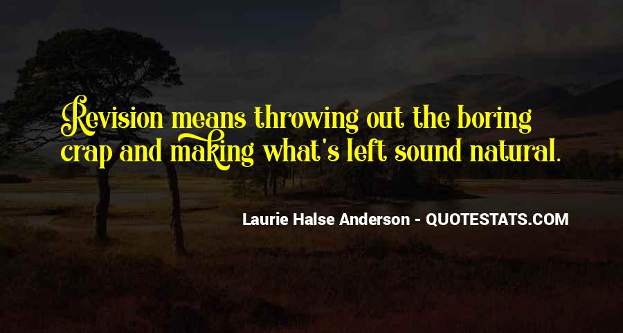 Laurie Halse Anderson Quotes #1015395