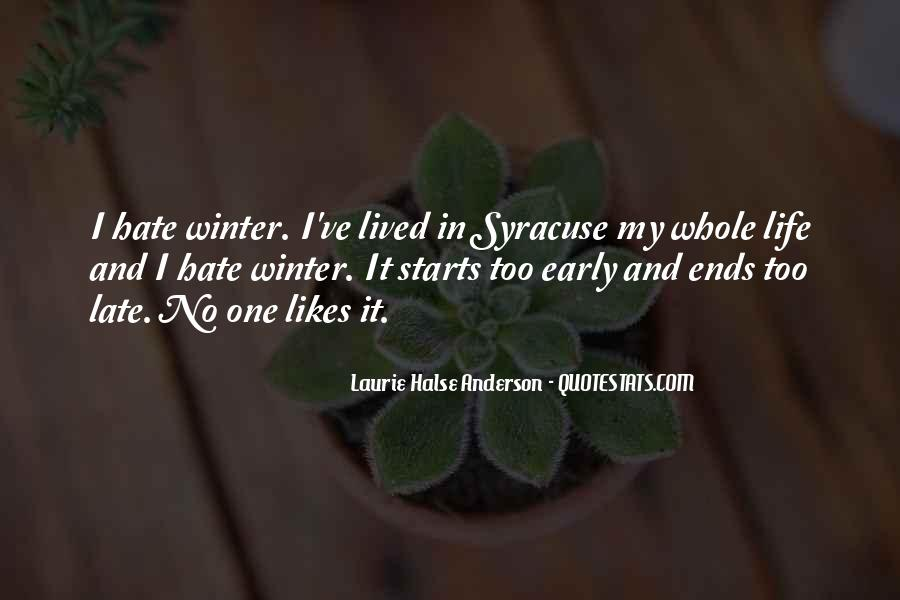 Laurie Halse Anderson Quotes #1250554
