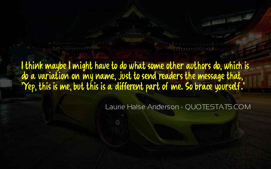 Laurie Halse Anderson Quotes #1329951