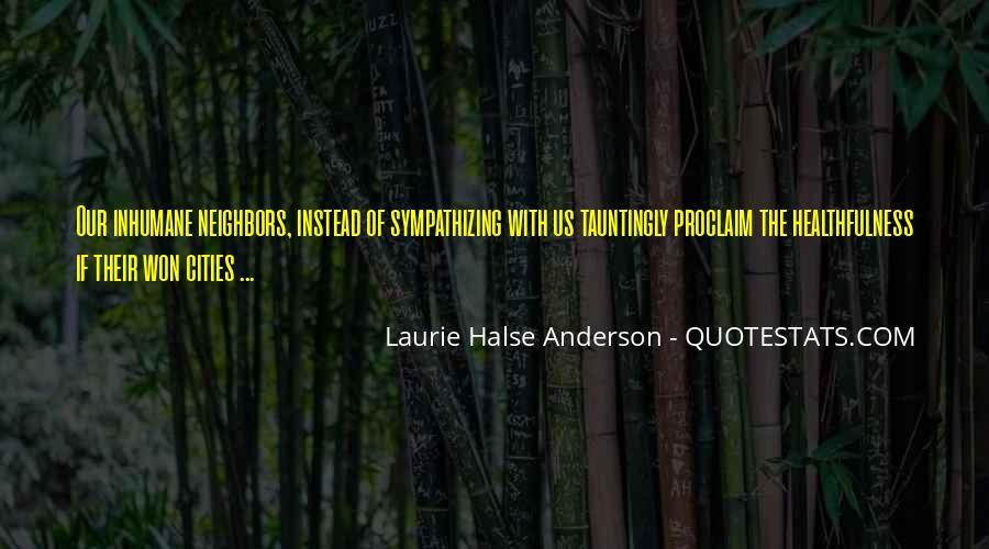 Laurie Halse Anderson Quotes #1426895