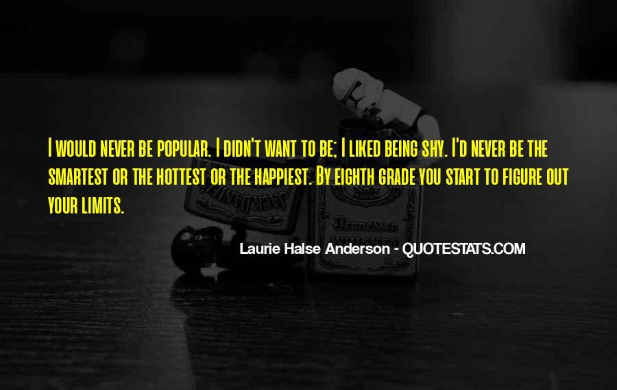 Laurie Halse Anderson Quotes #1505581