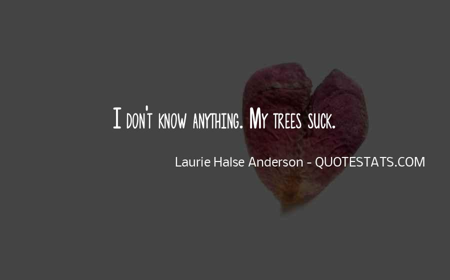 Laurie Halse Anderson Quotes #1645626