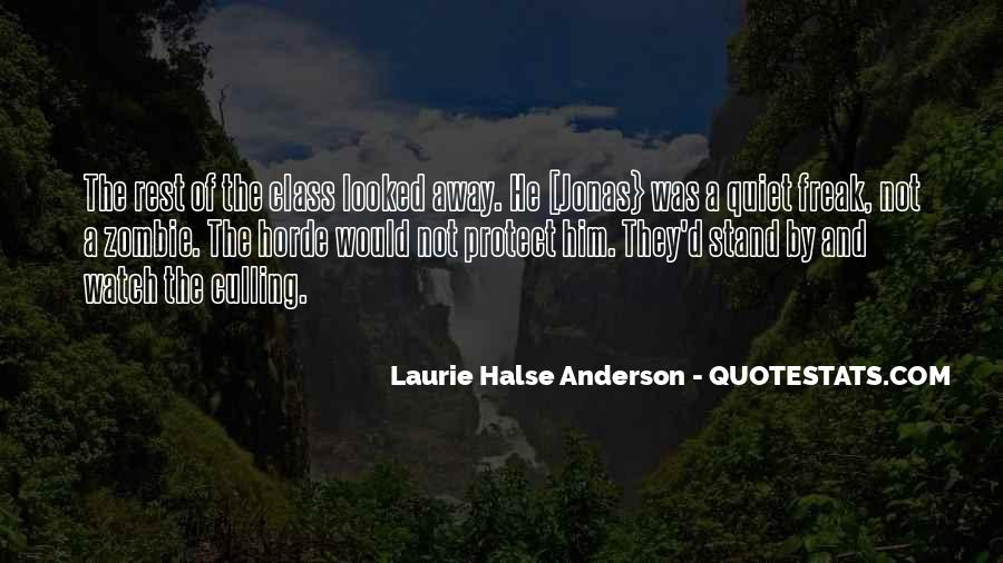 Laurie Halse Anderson Quotes #1761592
