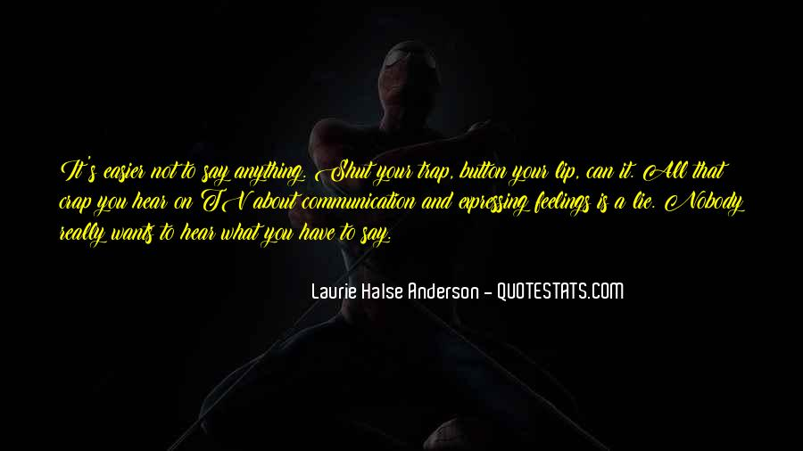 Laurie Halse Anderson Quotes #1844735