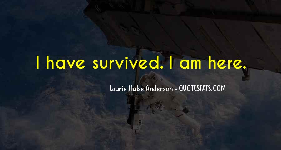 Laurie Halse Anderson Quotes #637847