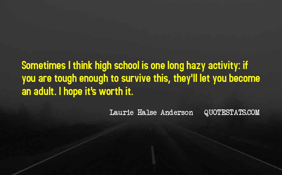 Laurie Halse Anderson Quotes #724299