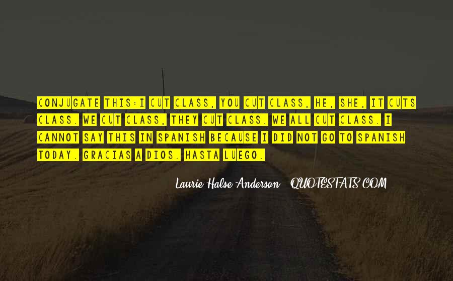 Laurie Halse Anderson Quotes #755633