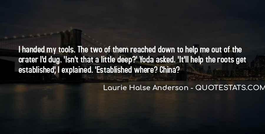 Laurie Halse Anderson Quotes #839140
