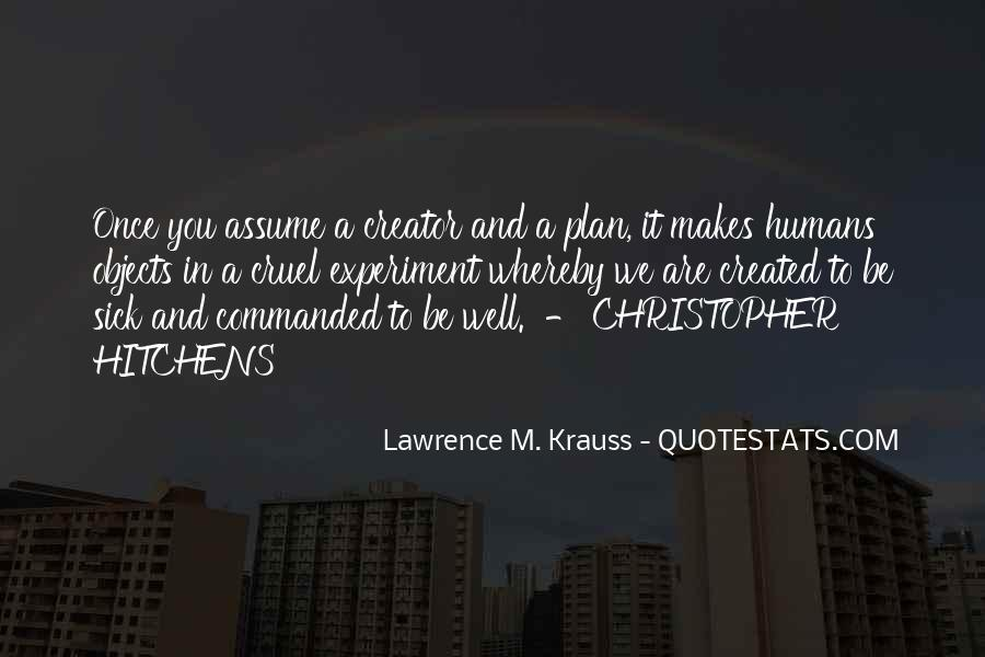 Lawrence M. Krauss Quotes #1387935