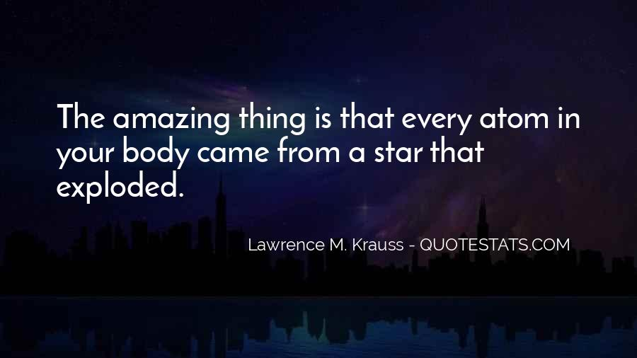 Lawrence M. Krauss Quotes #598569