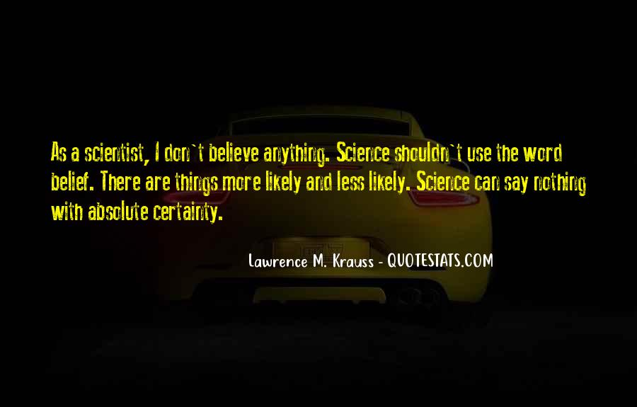Lawrence M. Krauss Quotes #882132