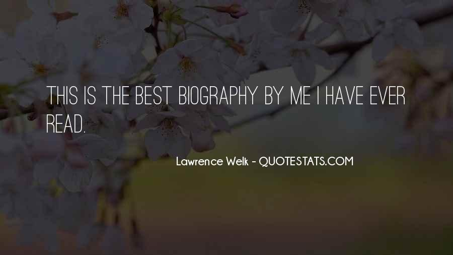 Lawrence Welk Quotes #1418127