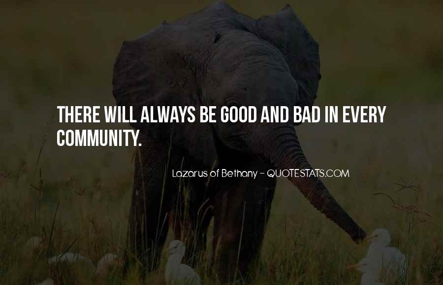 Lazarus Of Bethany Quotes #1312296