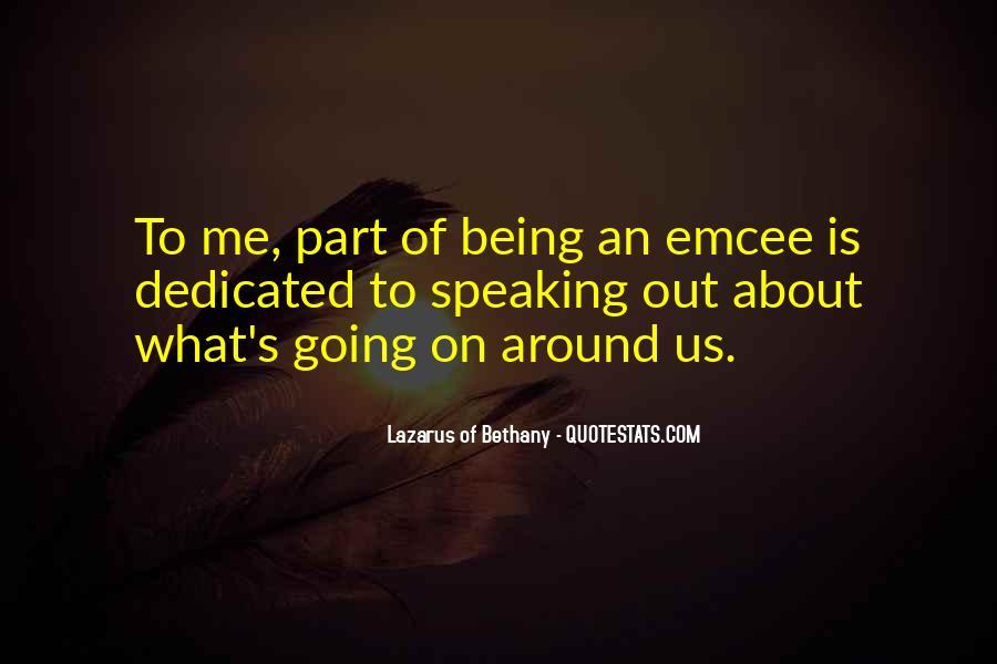 Lazarus Of Bethany Quotes #136411