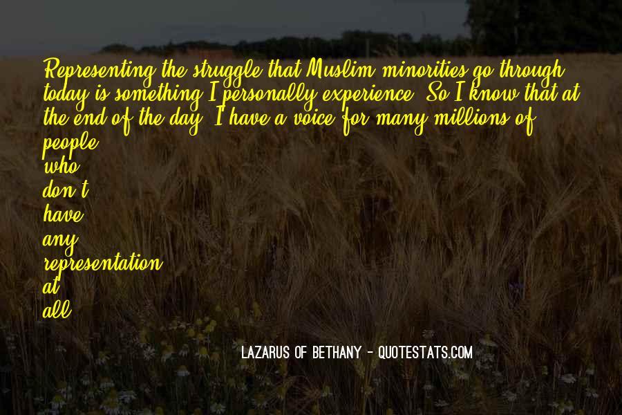 Lazarus Of Bethany Quotes #1368069
