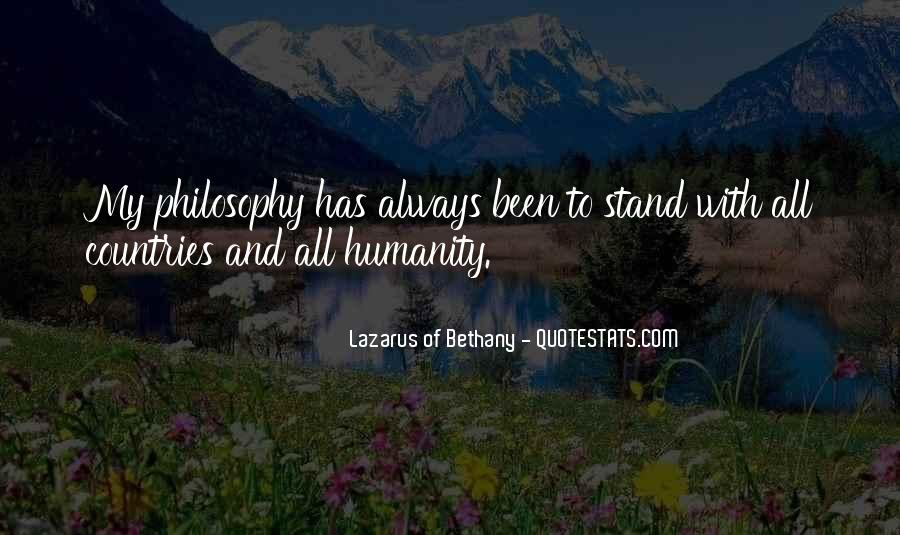 Lazarus Of Bethany Quotes #320876