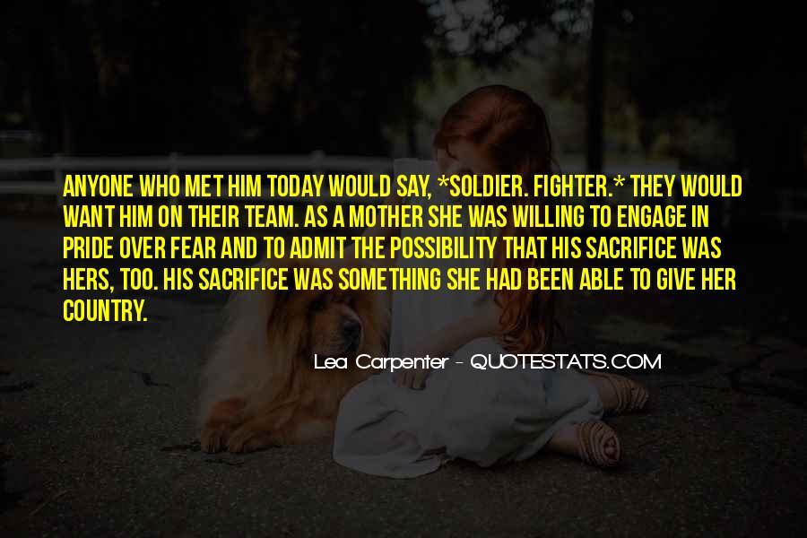 Lea Carpenter Quotes #555320
