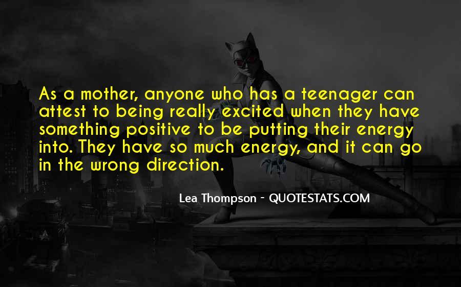 Lea Thompson Quotes #1194226