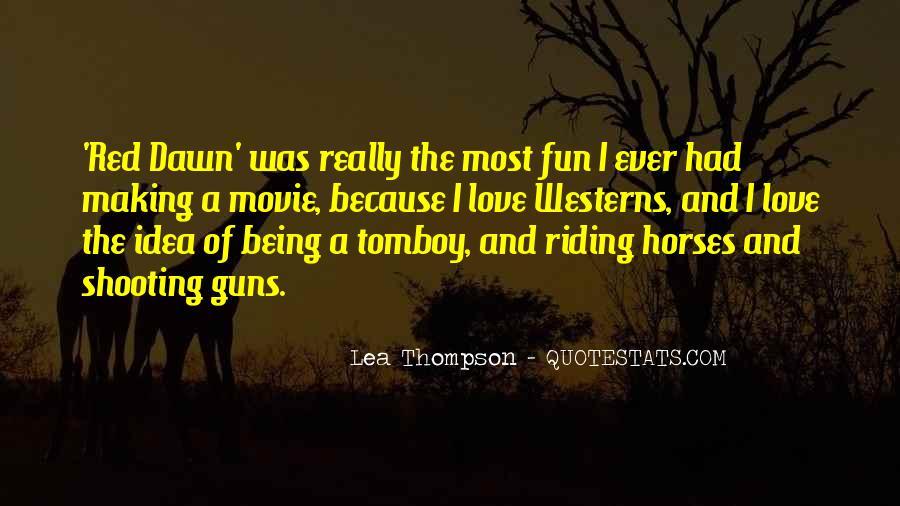 Lea Thompson Quotes #1212494