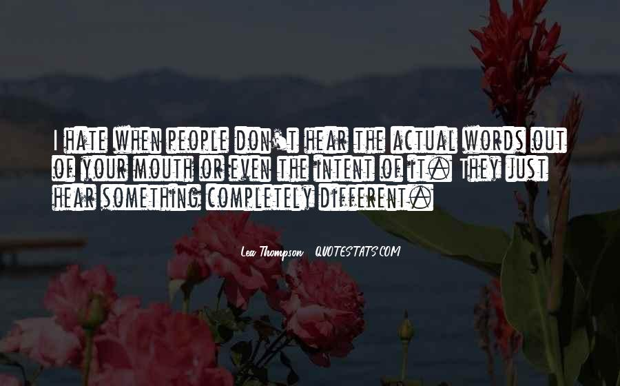 Lea Thompson Quotes #1521917