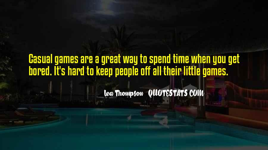 Lea Thompson Quotes #1738800