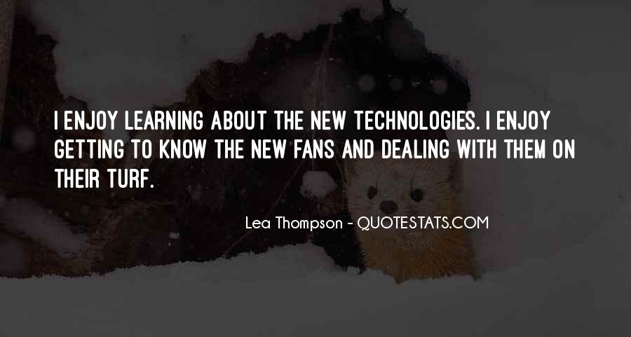 Lea Thompson Quotes #20921