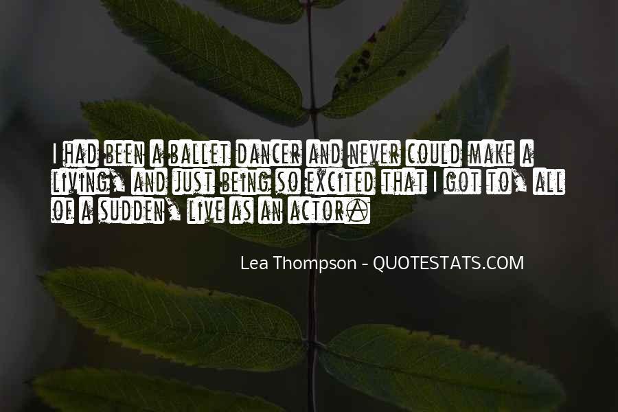 Lea Thompson Quotes #45755