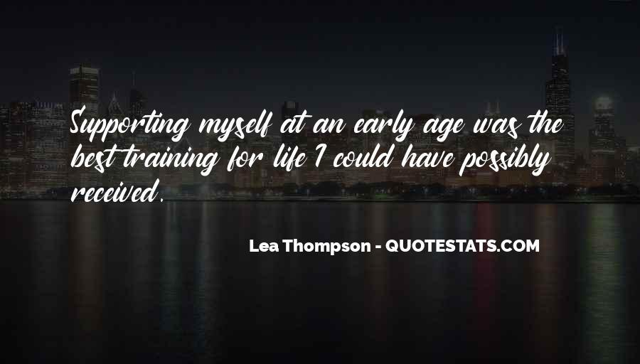 Lea Thompson Quotes #894135