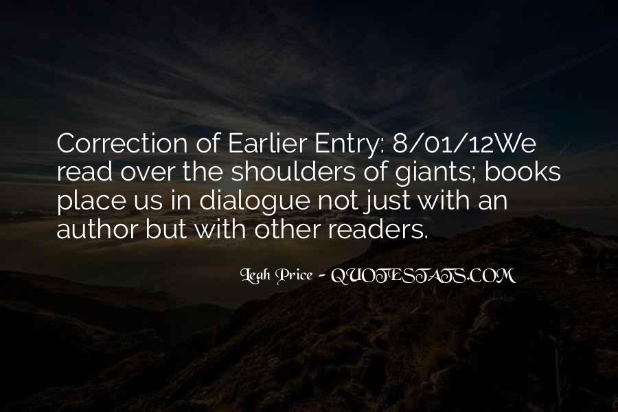 Leah Price Quotes #1592622
