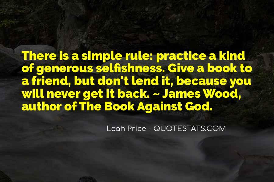 Leah Price Quotes #494863