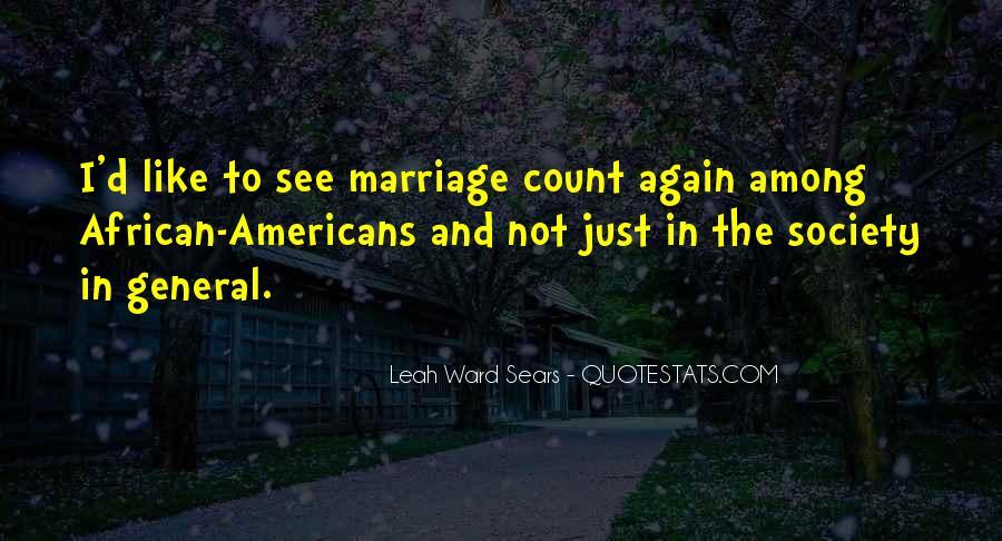 Leah Ward Sears Quotes #1155946