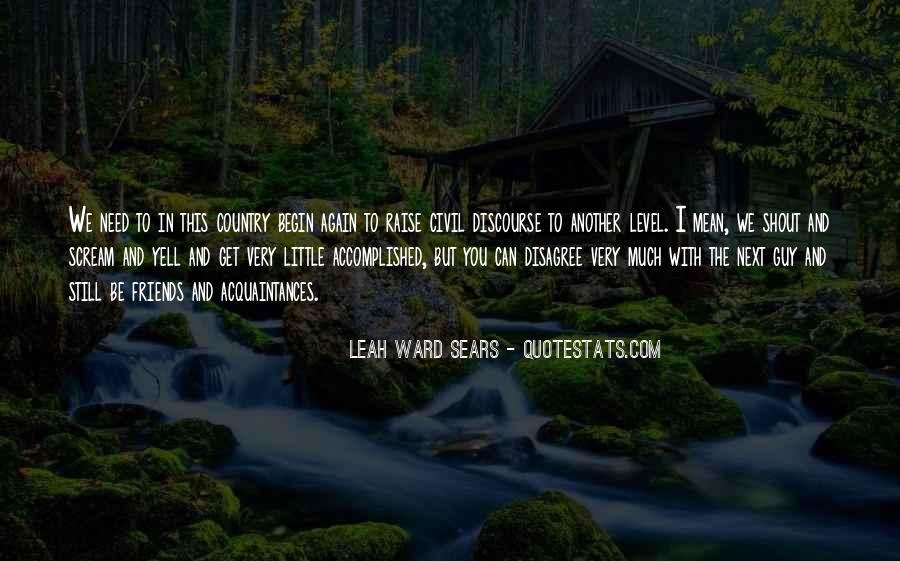 Leah Ward Sears Quotes #1593453