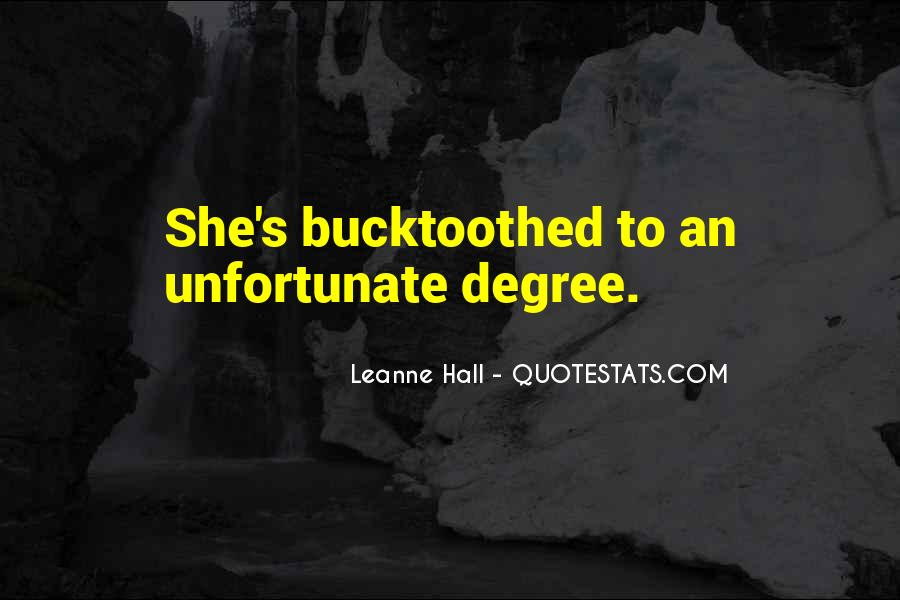 Leanne Hall Quotes #1775517