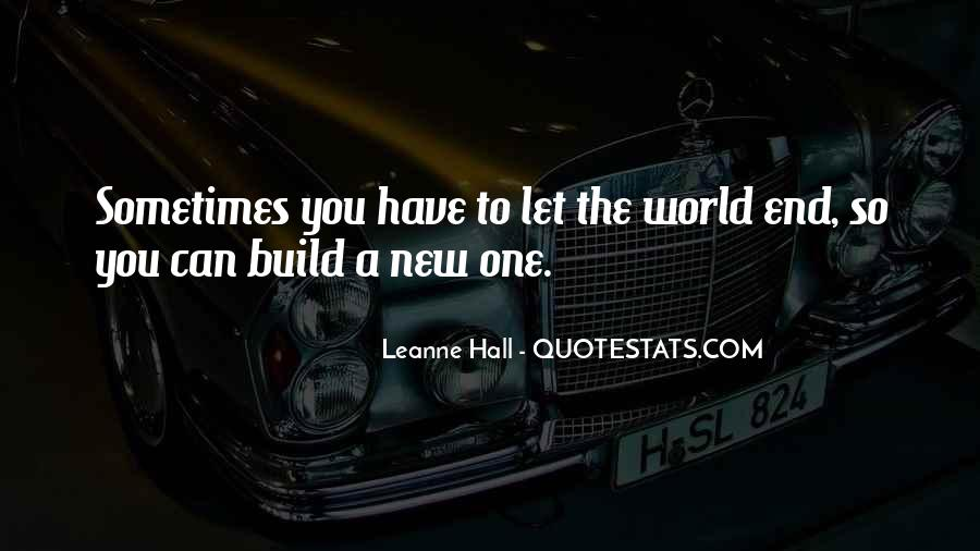 Leanne Hall Quotes #491204
