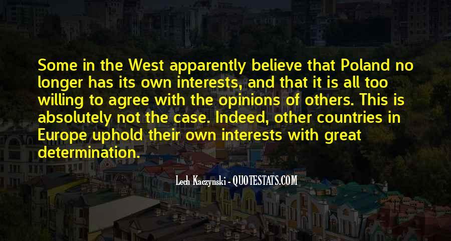 Lech Kaczynski Quotes #1176122