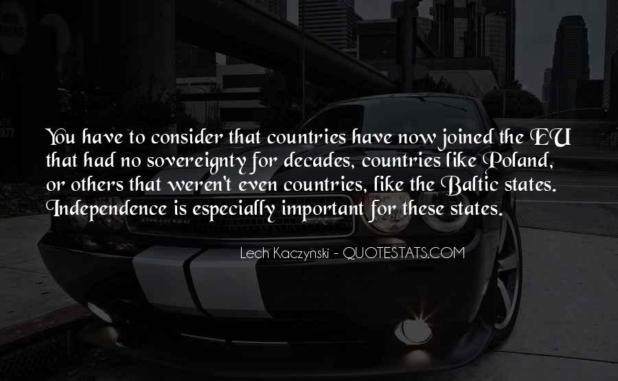 Lech Kaczynski Quotes #1489485