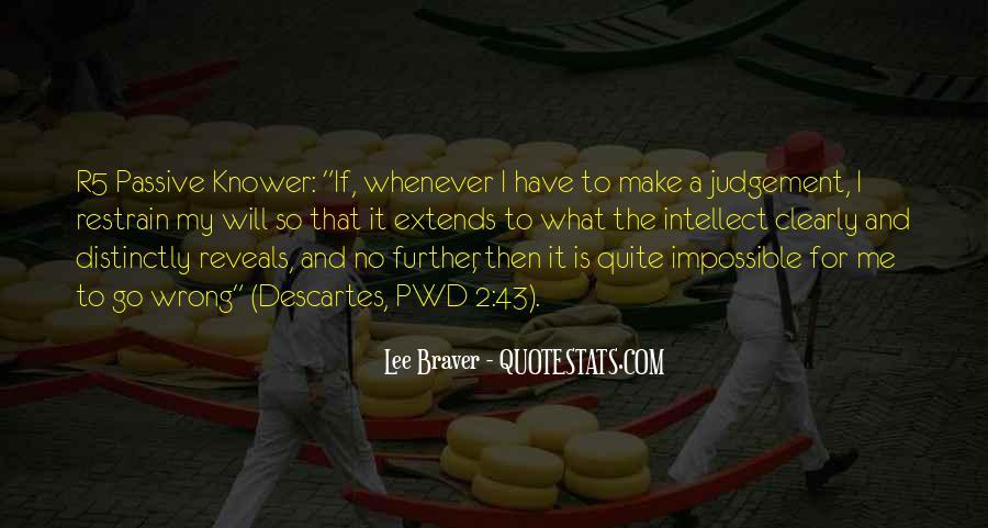 Lee Braver Quotes #182697