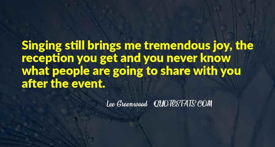 Lee Greenwood Quotes #44166