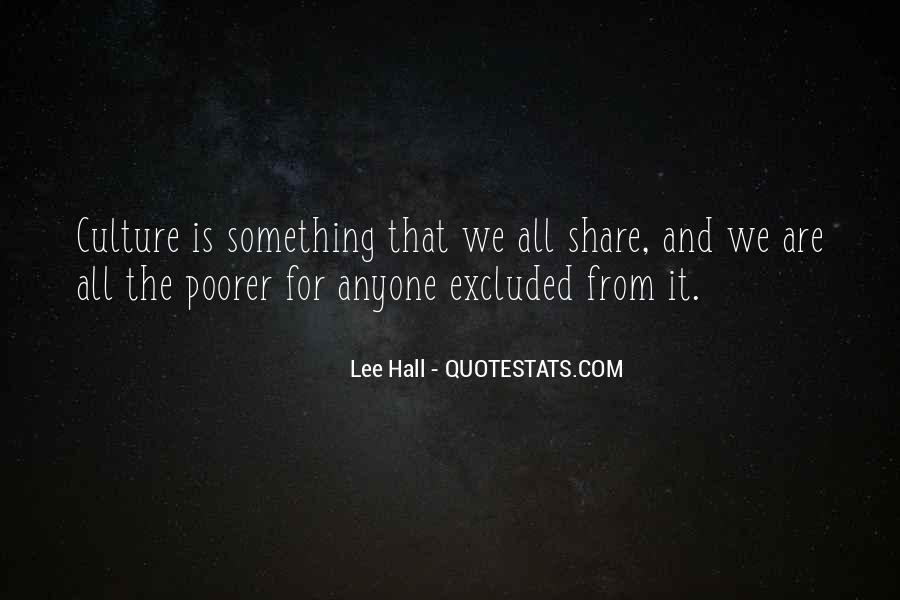 Lee Hall Quotes #134515