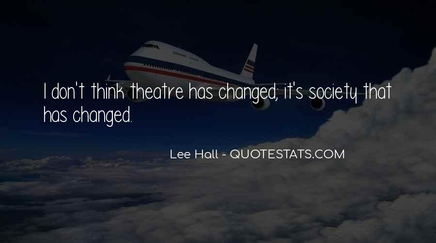 Lee Hall Quotes #629367