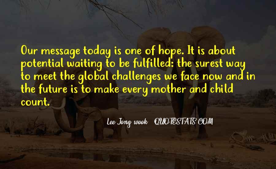 Lee Jong-wook Quotes #193073