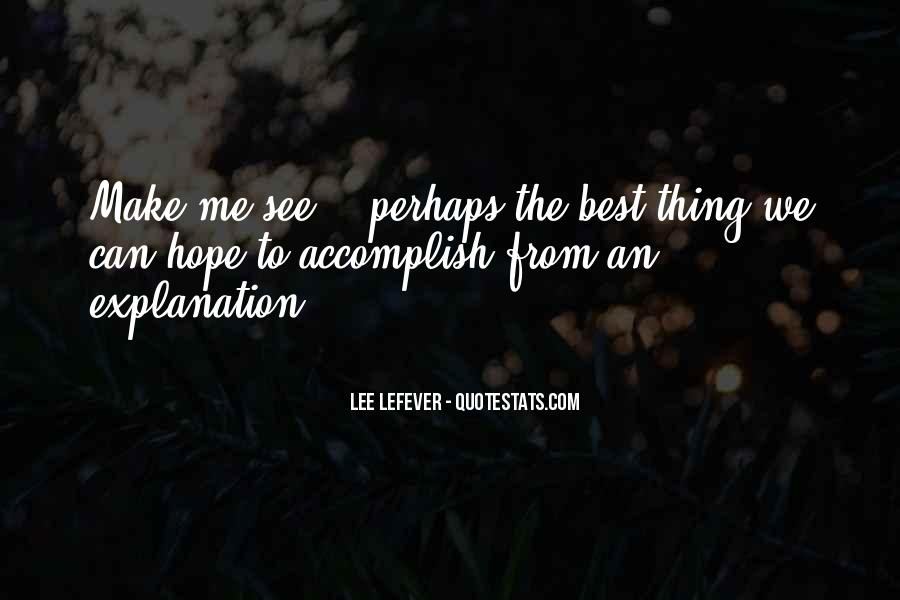 Lee LeFever Quotes #400756