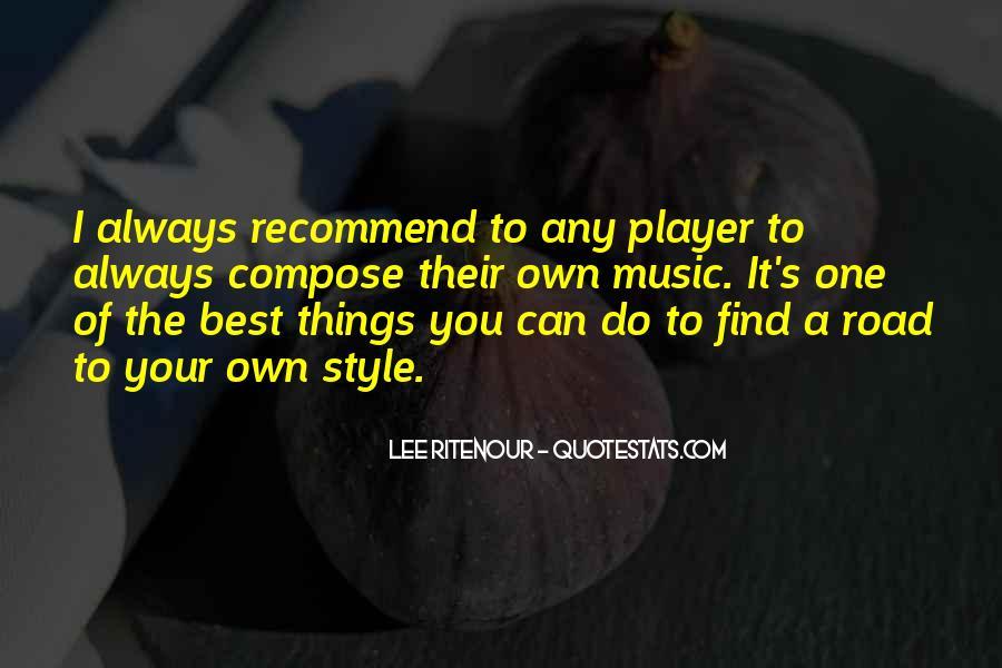 Lee Ritenour Quotes #1214241