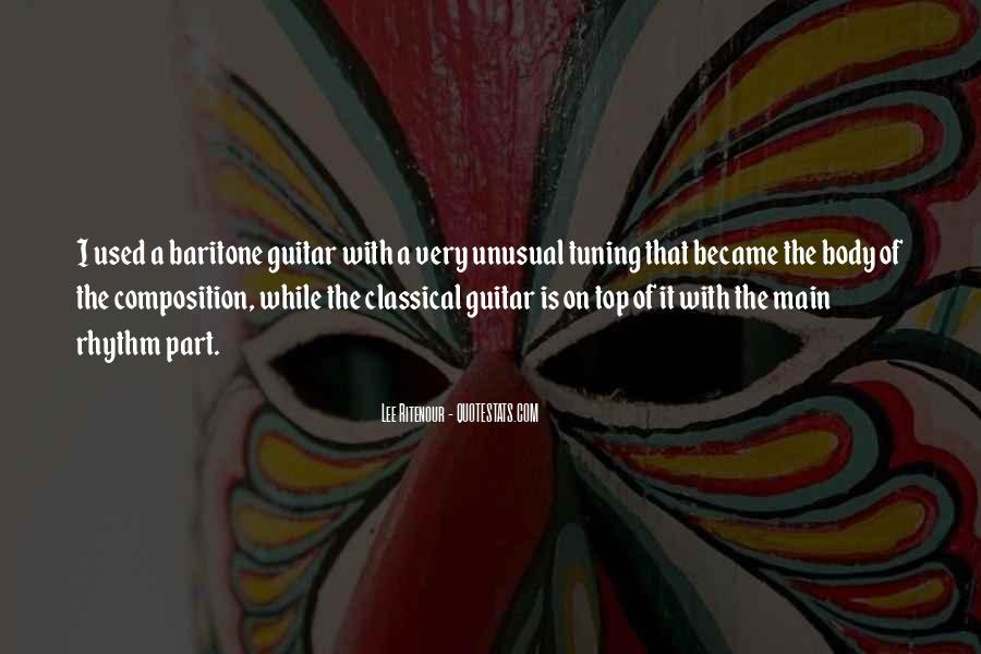 Lee Ritenour Quotes #431732