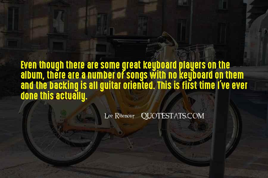 Lee Ritenour Quotes #766073