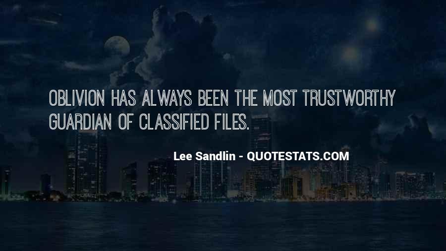 Lee Sandlin Quotes #310019