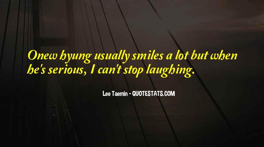 Lee Taemin Quotes #198469