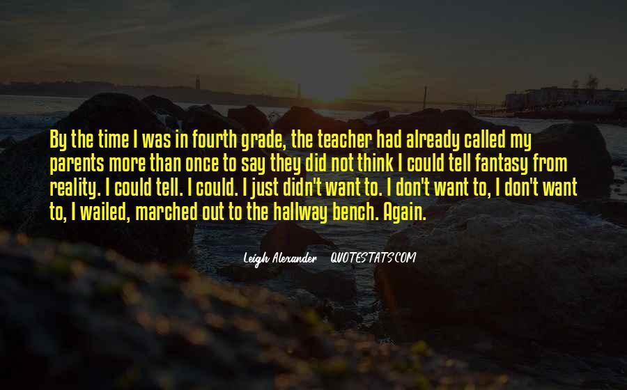 Leigh Alexander Quotes #1015116