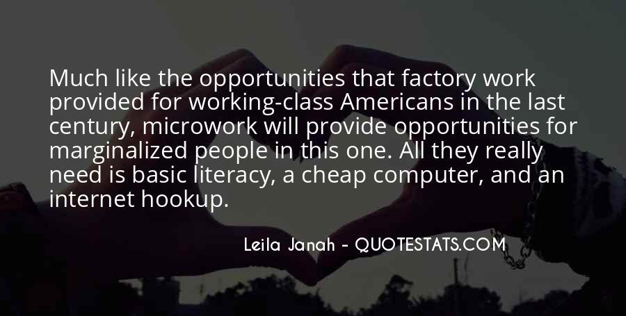 Leila Janah Quotes #1229606