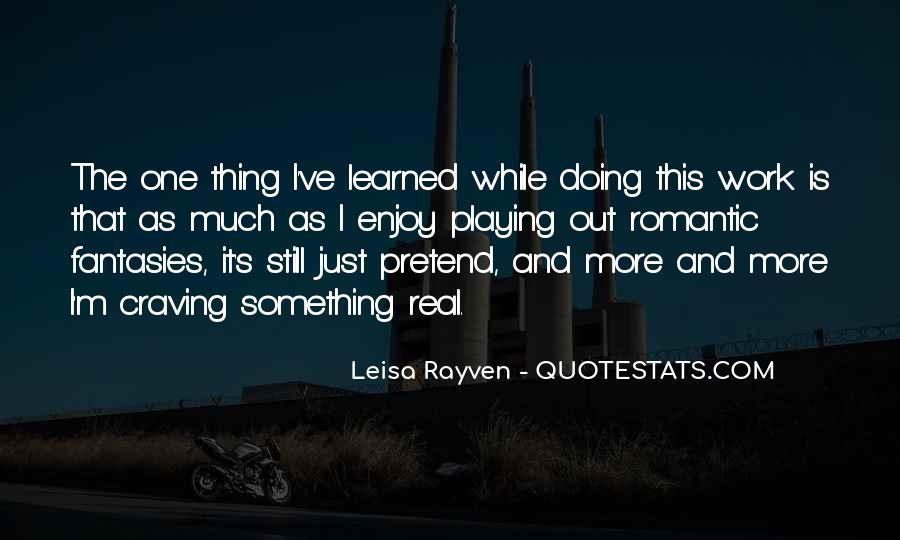 Leisa Rayven Quotes #1002656